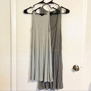 NWOT BUNDLE 2x Gray Sundresses